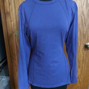 Purple Tek Gear long sleeve shirt